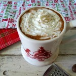 Eggnog Hot Chocolate #SundaySupper