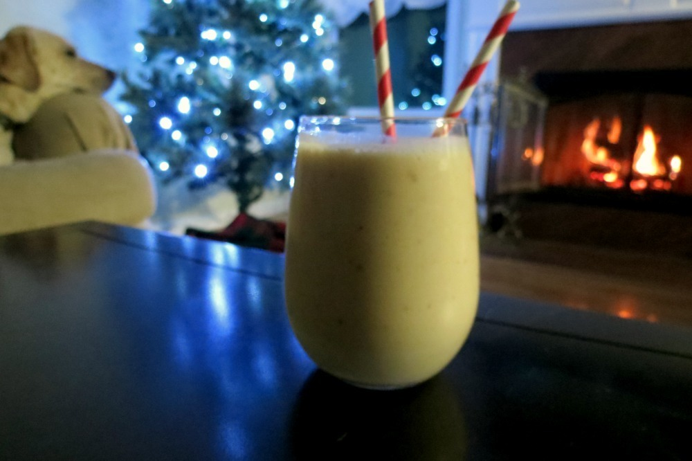 Eggnog Smoothie (Vegan)