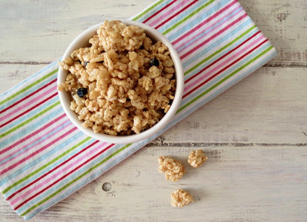Peanut Butter Rice Krispie Treat Granola