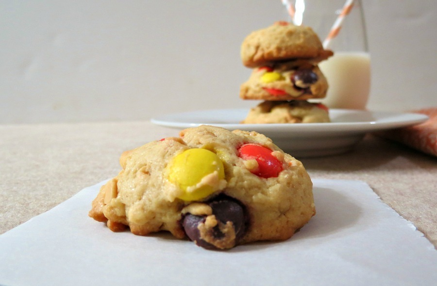 Reese's Monster Cookies