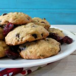 Cranberry Orange Chocolate Pistachio Cookies #fbcookieswap
