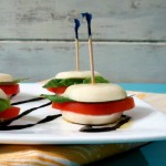 Mini Cheesy Caprese Sandwich