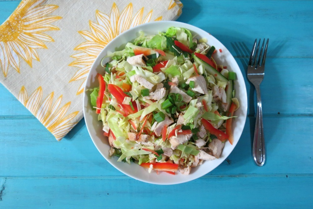 Spicy Thai Chicken Salad