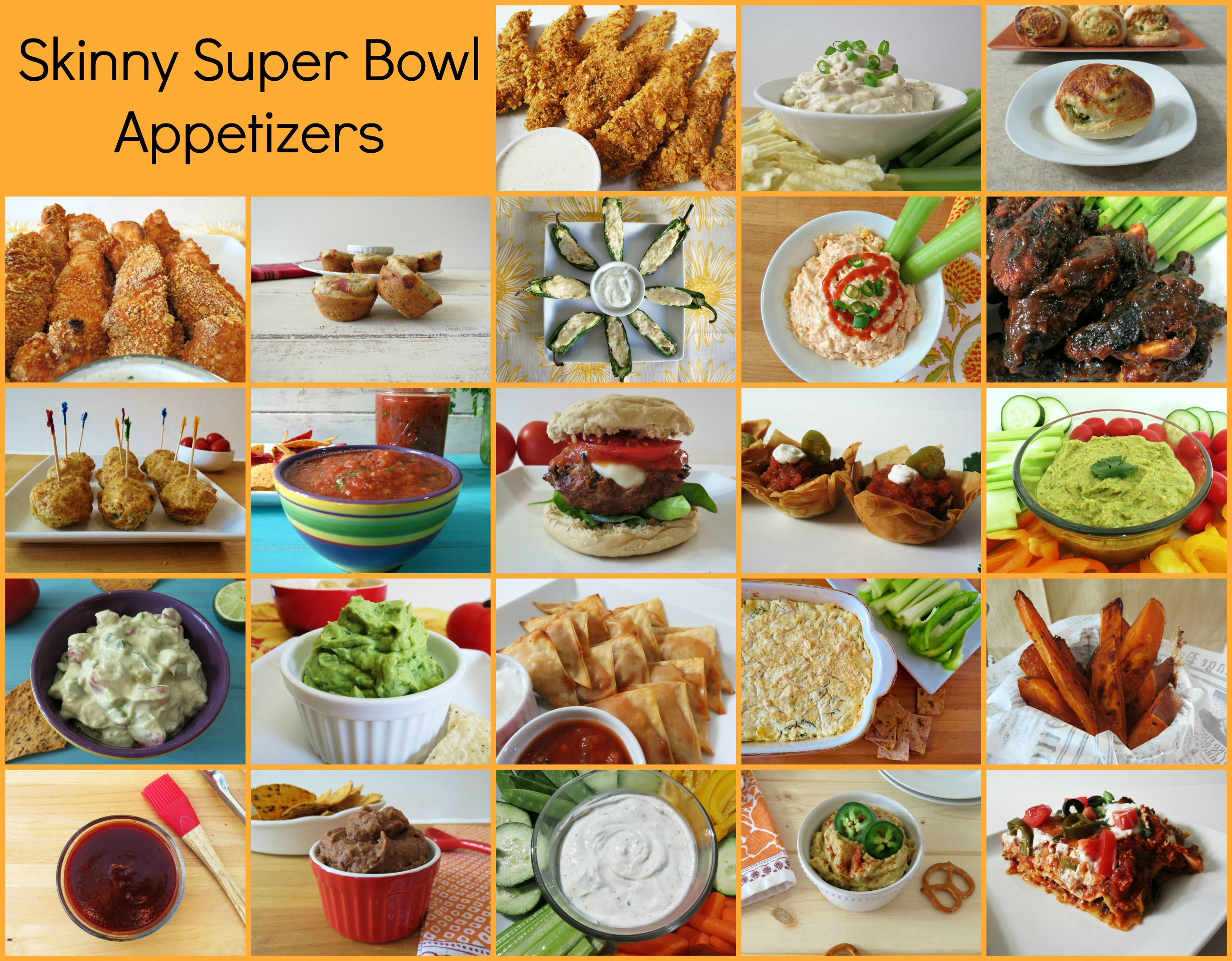 Skinny Super Bowl Appetizers 2013 Season #HolidayDetox