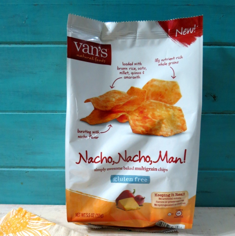 Vans Nacho, Nacho Man!  Gluten Free Multigrain Chips