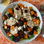 Chicken and Sweet Potato Cherry Salad / Giveaway #GoTart