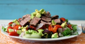 Grilled Vegetable and Tri-Tip Salad