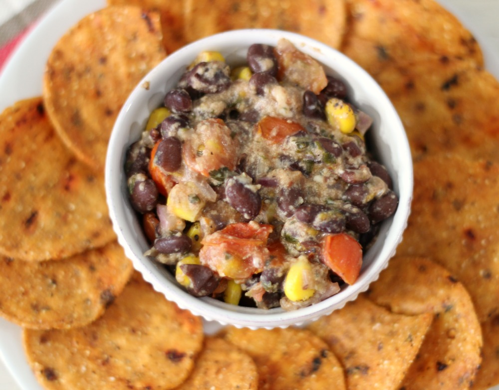 Hot Black Bean Dip  #TeamTBC