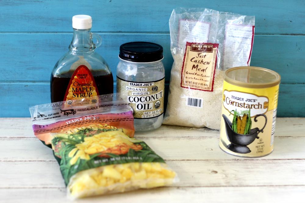 Trader Joe's Ingredients for Pineapple Bars