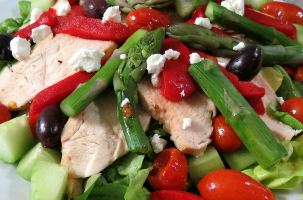 Warmed Greek Salad