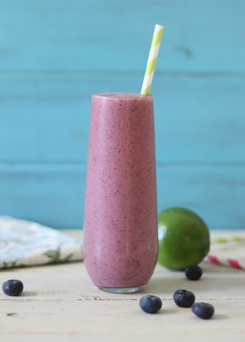 Blueberry Key Lime Pie Smoothie