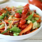 Marinated Garden Salad / Getting Garden Ready