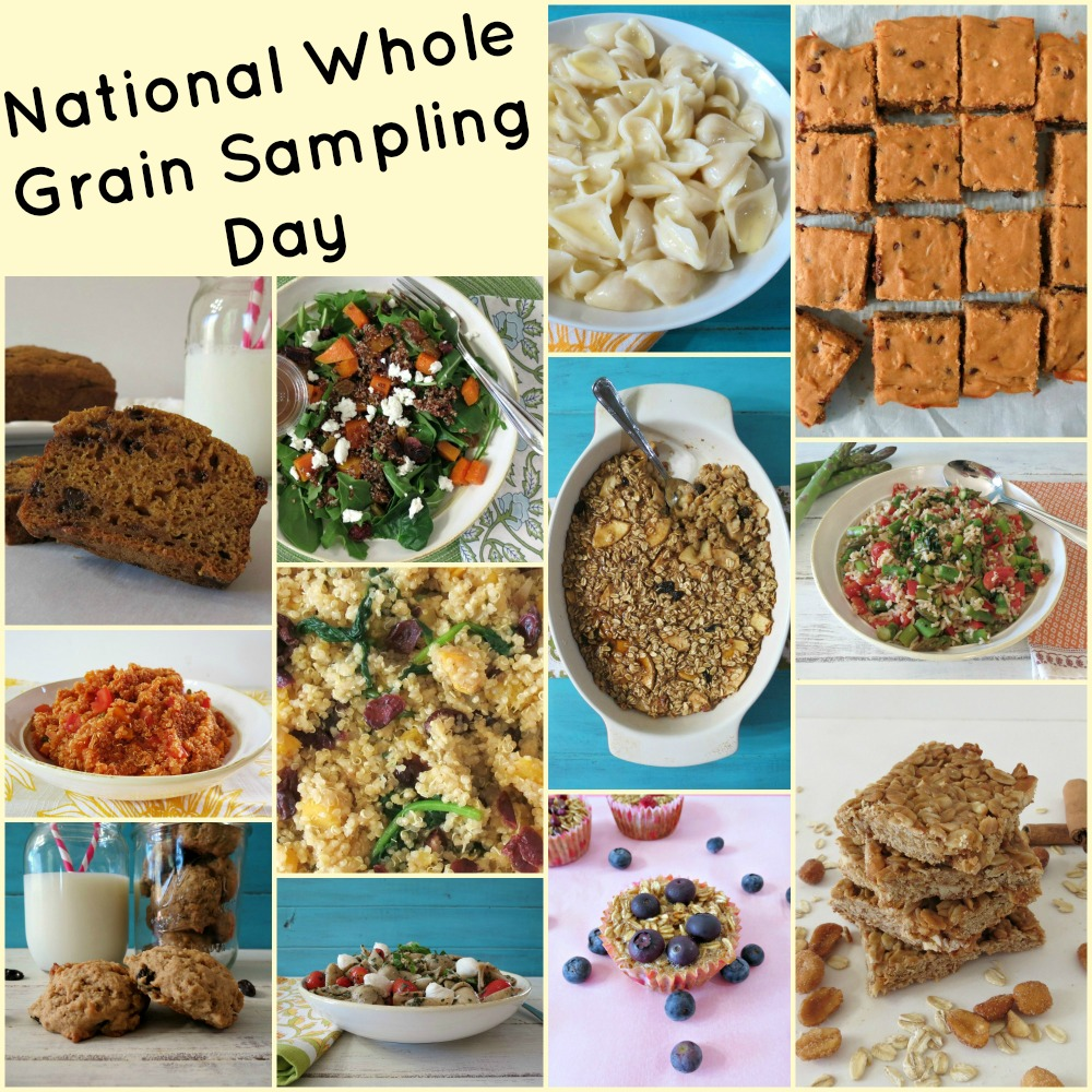 National Whole Grain Sampling Day Recipes