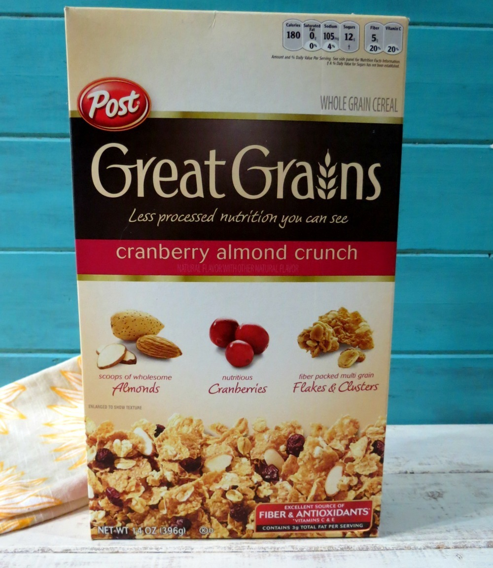 Great Grains Cranberry Almond Crunch Nutrition