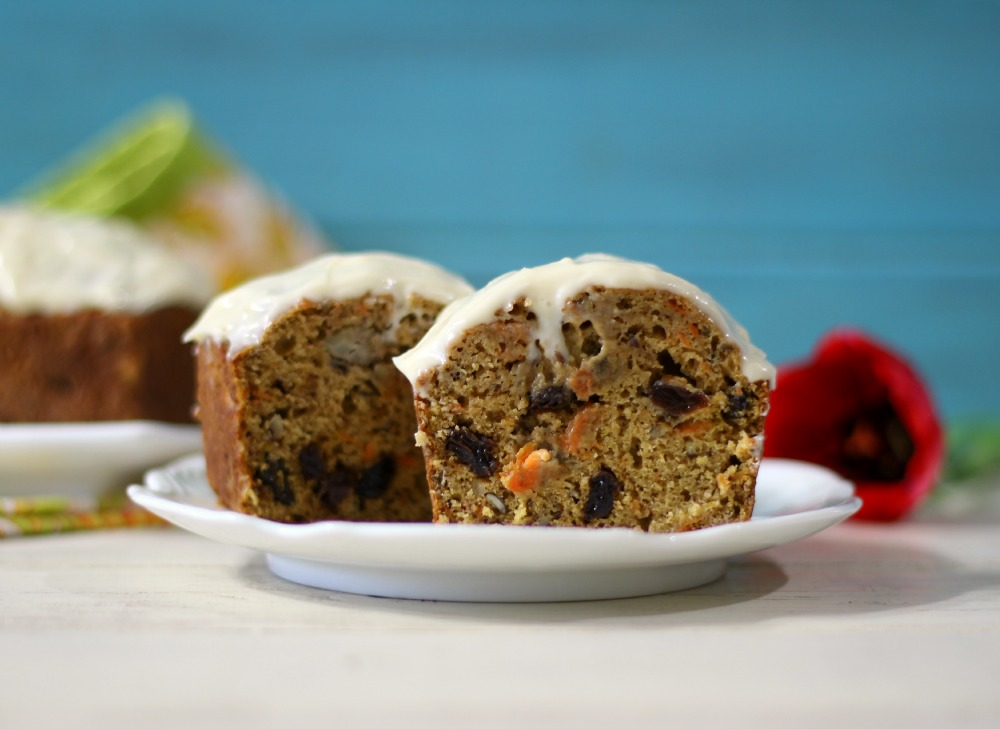 Banana Carrot Cake Bread