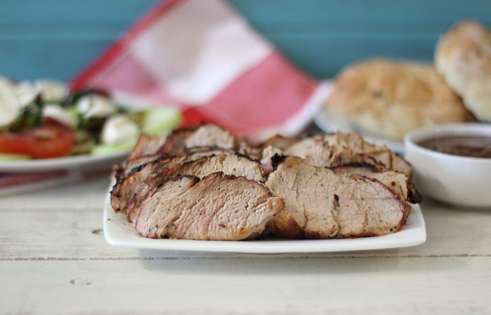 Grilled Pork Tenderloin with Memphis Style Rub
