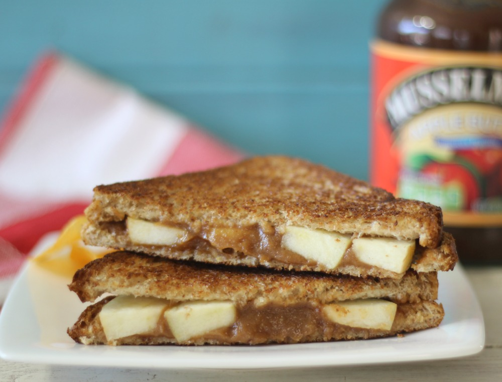 Peanut Butter and Apple Sandwich #AppleButterSpin | Peanut Butter and ...
