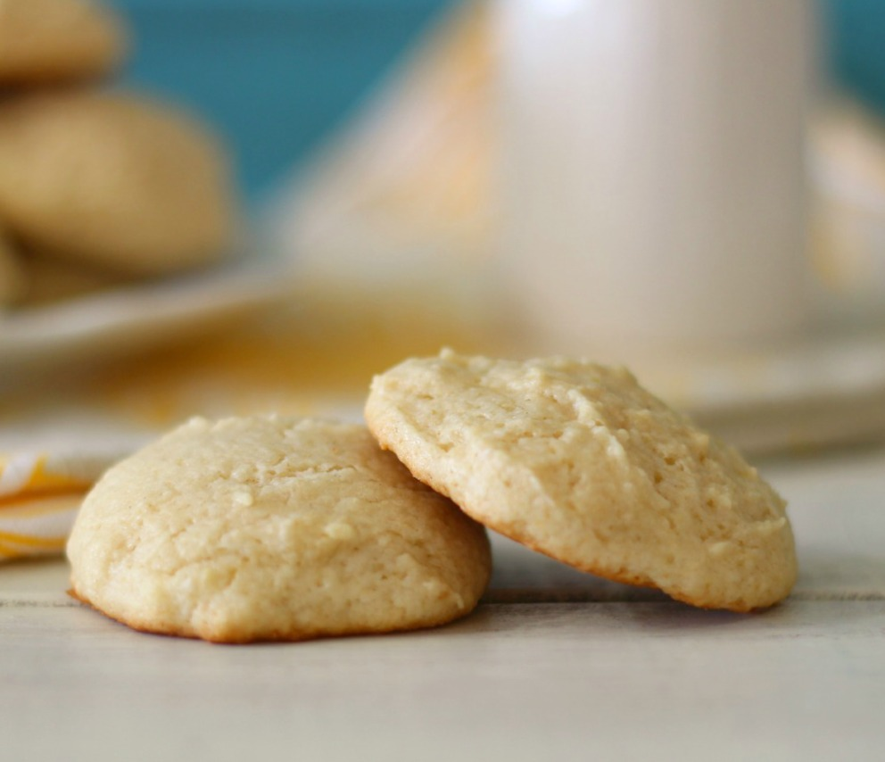 Lemon Cookies #SundaySupper | Peanut Butter and Peppers
