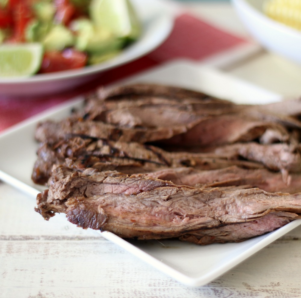 Marinated BBQ Flank Steak