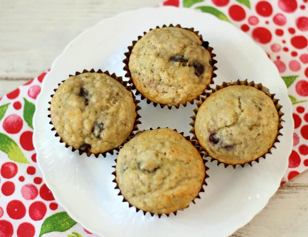Cherry Chocolate Chunk Muffins