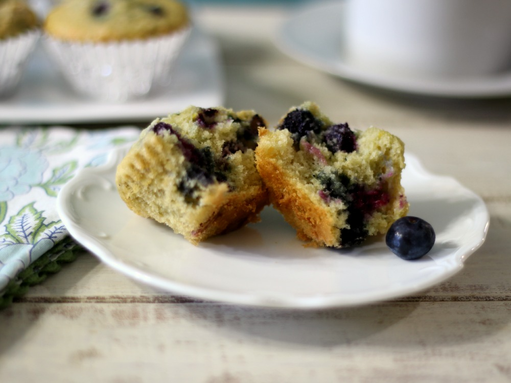 Tradtional Blueberry Muffins