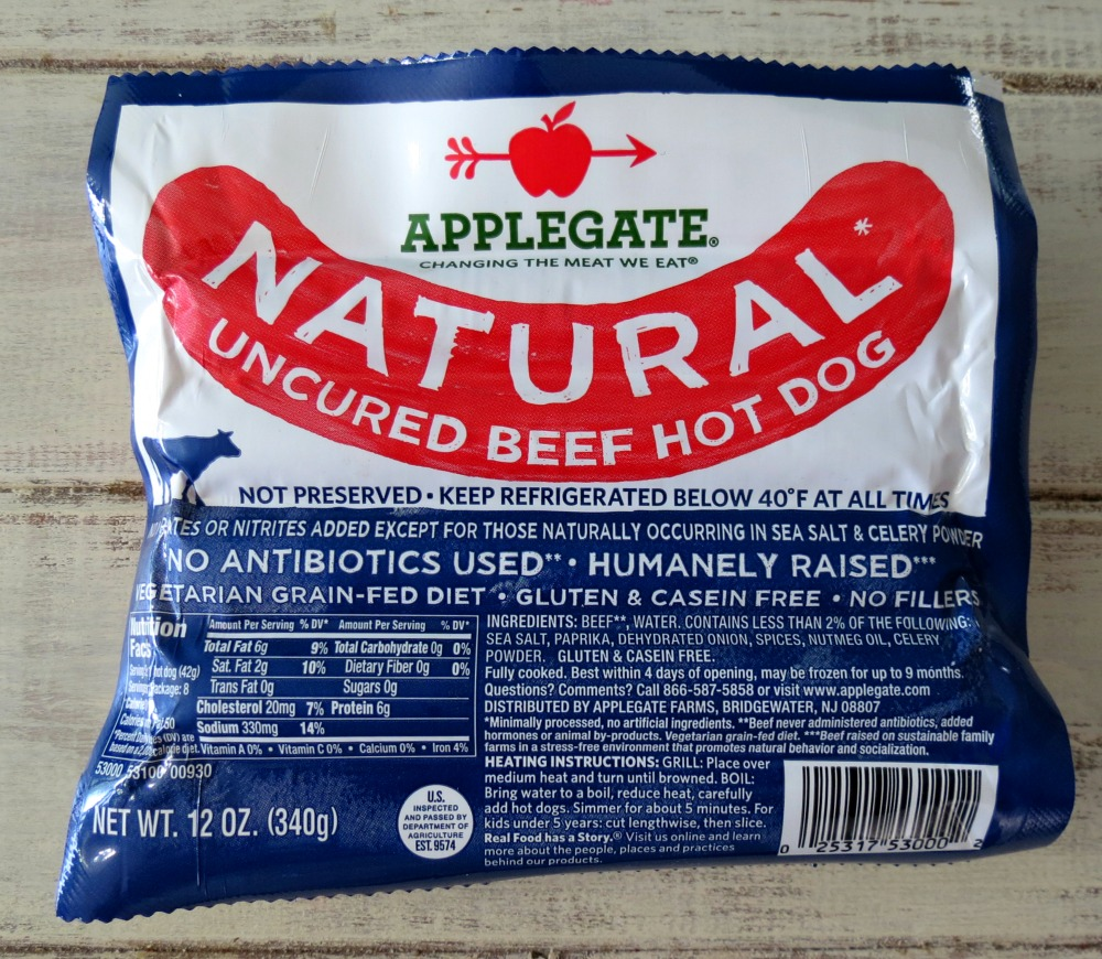 Applegate Natural Hot Dogs