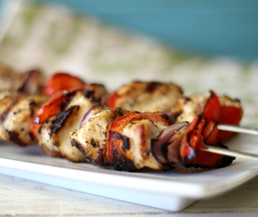 Brazilian Chicken Kabobs / Giveaway #flavorstory | Peanut Butter and ...