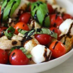 Caprese Chicken Panzanella Salad #WeekdaySupper #ChooseDreams