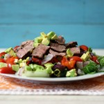 Yum Yum Wednesday Grilled Vegetable Tri-Tip Salad