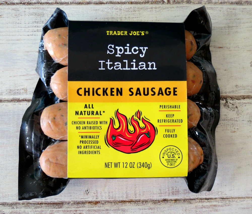 Trader Joes Spicy Chicken Links