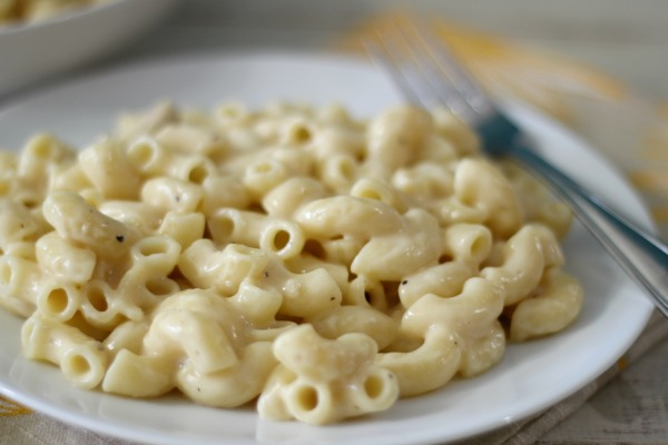 Lightened Up Macaroni and Cheese