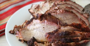 Smoked Pork  Sirloin Tip Roast