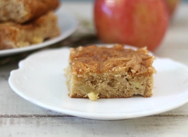 Caramel Apple Snack Cake