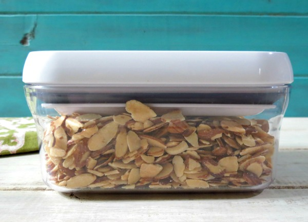 OXO container for Almonds