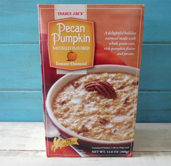 Trader Joes Pecan Pumpkin Instant Oatmeal