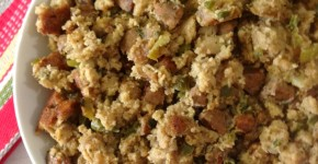 Cajun Cornbread Stuffing