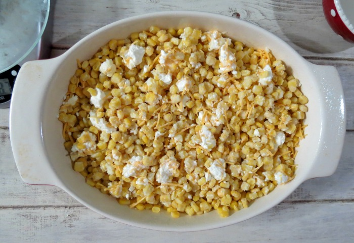 Cheesy Baked Corn #howfreshstaysfresh