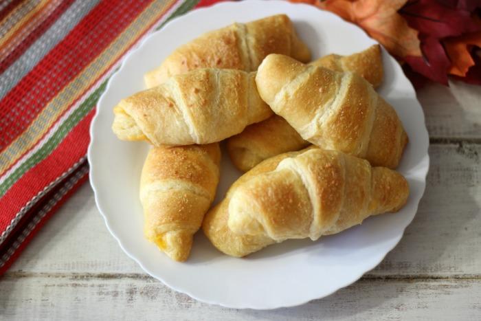 Cheesy Crescent Rolls