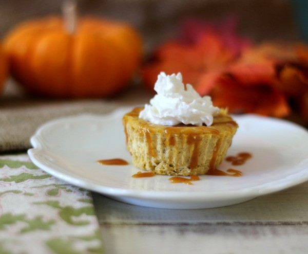 Individual Pumpkin Cheesecake
