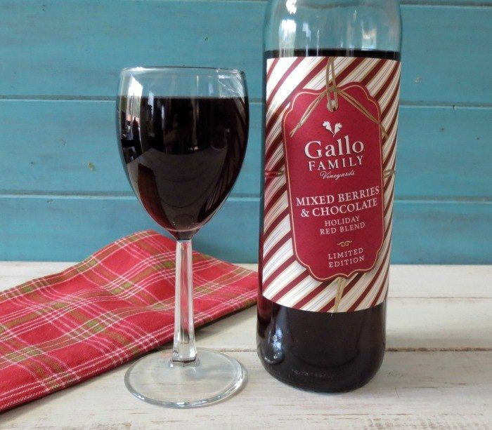 Gallo Family Vineyards Mixed Berries with Chocolate Wine #SundaySupper