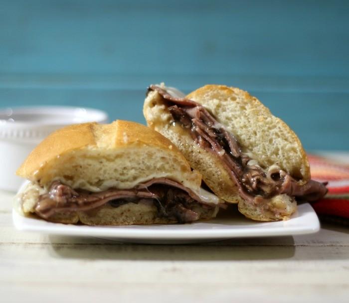 Roast Beef and Mushroom Sandwich