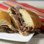 Roast Beef and Mushroom Sandwich #PANWITHAPLAN #IMAGINENATION