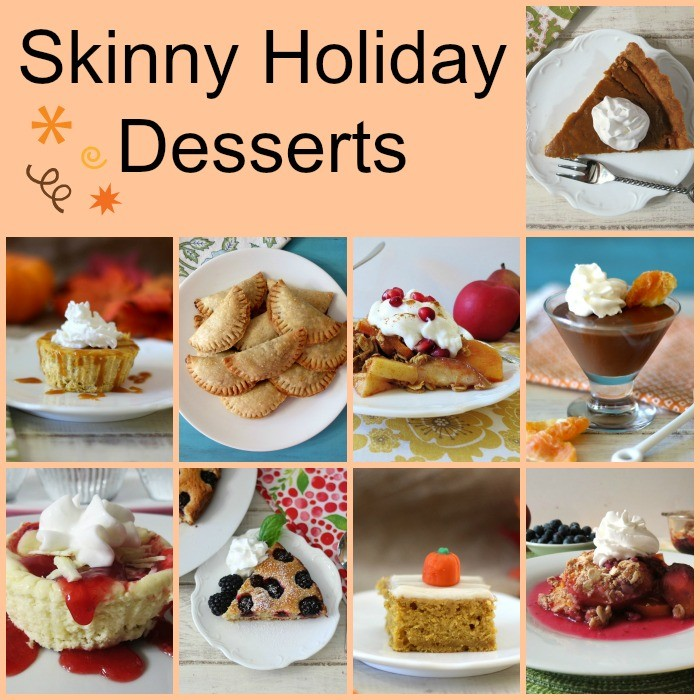 Skinny Holiday Desserts