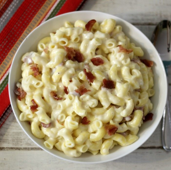 Spicy Bacon Mac & Cheese