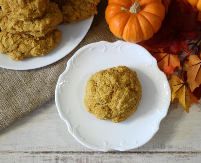 Whole Wheat Pumpkin Drop Biscuits
