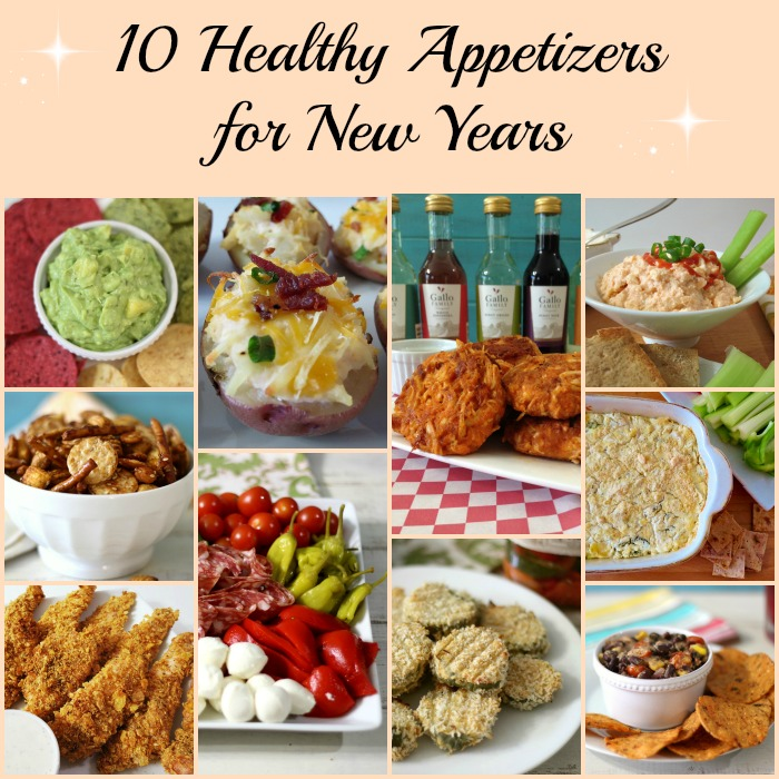 10 Healthy Appetizers for New Years