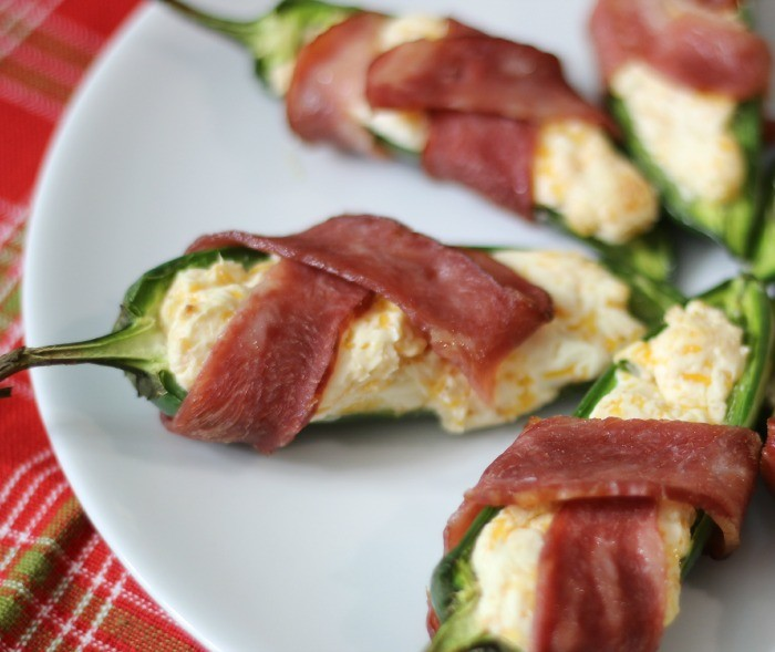 Jalapeno Poppers Wrapped in Bacon #SundaySupper | Peanut Butter and ...