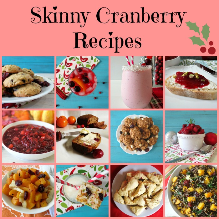 Skinny Cranberry Recipes