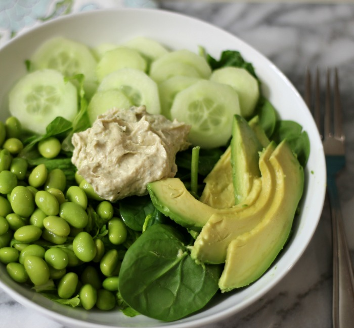 Green Protein Salad #createwithcrisp