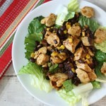 Barbecue Chicken Salad #WeekdaySupper  #McSkilletSauce
